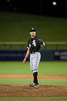 AZL White Sox relief pitcher Vince Arobio (38) on the mound against the AZL Cubs on August 13, 2017 at Sloan Park in Mesa, Arizona. AZL White Sox defeated the AZL Cubs 7-4. (Zachary Lucy/Four Seam Images)