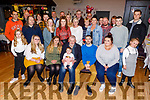 Brian McKivergan from Monavalley celebrating his retirement from the Tralee Fire Brigade in the Austin Stacks club house on Sunday.<br /> Seated l to r: Catherine and Megan McKivergan, Mia-Ella Oxford, Brian McKivergan, Denver and Sherie Oxford.
