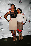 Maria Clifton and Nikki Attend The 4th Annual Beauty and the Beat: Heroines of Excellence Awards Honoring Outstanding Women of Color on the Rise Hosted by Wilhelmina and Brand Jordan Model Maria Clifton Held at the Empire Room, NY 3/22/13