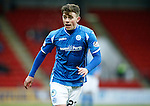 St Johnstone v Hamilton Accies....016.01.16  SPFL  McDiarmid Park, Perth<br /> Craig Thomson<br /> Picture by Graeme Hart.<br /> Copyright Perthshire Picture Agency<br /> Tel: 01738 623350  Mobile: 07990 594431