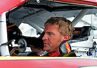 May 1, 2009; Richmond, VA, USA; NASCAR Sprint Cup Series driver Clint Bowyer during qualifying for the Russ Friedman 400 at the Richmond International Raceway. Mandatory Credit: Mark J. Rebilas-