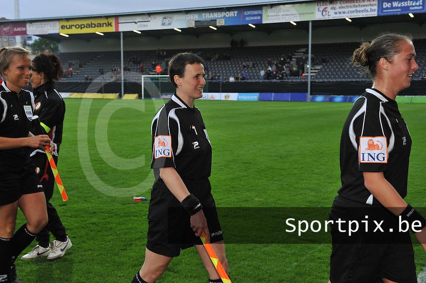 Bekerfinale 2012 : WD Lierse SK - Standard Femina :.Ella De Vries.foto David Catry / Joke Vuylsteke / Vrouwenteam.be