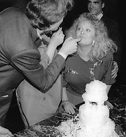 Sally Struthers and Guy Hector 1986<br /> Guy Hector wedding day 1986<br /> Photo By Jesse Nash/PHOTOlink