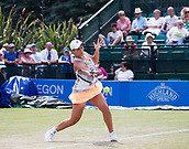 June 14th 2017, Nottingham,  England; WTA Aegon Nottingham Open Tennis Tournament day 5;  Ashleigh Barty of Australia who defeated Jana Fett of Croatia in two sets on centre court
