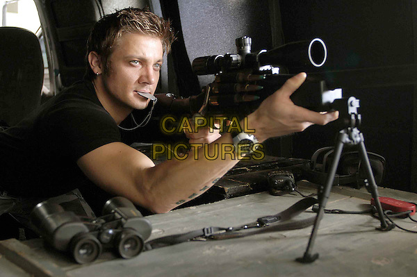 JEREMY RENNER .in SWAT - filmstill.Filmstill - Editorial Use Only.Ref: FB.sales@capitalpictures.com.www.capitalpictures.com.Supplied by Capital Pictures.