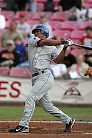 July 8 2009: Jose Gonzalez of the Tri City Dust Devils during game against the Salem-Kaizer Volcanoes at Volcano  Stadium in Kaizer,OR.  Photo by Larry Goren/Four Seam Images