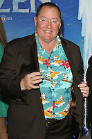 "HOLLYWOOD, CA - NOVEMBER 19: John Lasseter at the World Premiere Of Walt Disney Animation Studios' ""Frozen"" held at the El Capitan Theatre on November 19, 2013 in Hollywood, California. (Photo by David Acosta/Celebrity Monitor)"