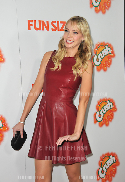 "Riki Lindhome at the Los Angeles premiere of her new movie ""Fun Size"" at the Paramount Theatre, Hollywood..October 25, 2012  Los Angeles, CA.Picture: Paul Smith / Featureflash"