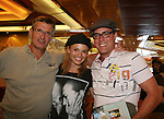 Guiding Light's Jordan Clarke - Mandy Bruno - Robert Bogue - Final Meet and Greet - Day 5 - Wednesday August 4, 2010 - So Long Springfield at Sea on the Carnival's Glory (Photos by Sue Coflin/Max Photos)