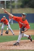 Alex Koronis of the Miami Hurricanes vs. the Virginia Cavaliers: March 24th, 2007 at Davenport Field in Charlottesville, VA.  Photo copyright Mike Janes Photography 2007.