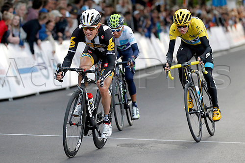 28.07.2015. Roeselare, Belgium. Criterium Roeselare Natour. The city of Roeselare hosts a delegate field with the  main riders of the Tour de France 2015. PAUWELS SERGE