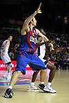 Lorbek vs Sato. FC Barcelona Regal vs Fenerbahce Ulker: 100-78 - Top 16 - Game 1.