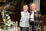 Tralee Flower Club Christmas Gala Night at the Grand Hotel on Monday Pictured l-r  Kitty O'Leary and Sheila Sugrue.