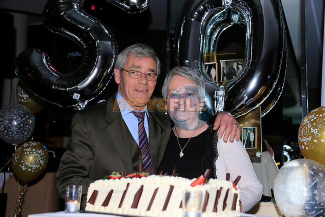 Sylvia Maurice Doran 50th wedding anniversary<br /> Picture www.newsfile.ie