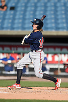 Blake Reese (14) of Lincoln High School in Tallahassee, Florida playing for the Atlanta Braves scout team during the East Coast Pro Showcase on July 31, 2014 at NBT Bank Stadium in Syracuse, New York.  (Mike Janes/Four Seam Images)