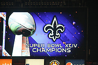 New Orleans Saints haben den Super Bowl gewonnen<br /> Super Bowl XLIV: Indianapolis Colts vs. New Orleans Saints *** Local Caption *** Foto ist honorarpflichtig! zzgl. gesetzl. MwSt. Auf Anfrage in hoeherer Qualitaet/Aufloesung. Belegexemplar an: Marc Schueler, Alte Weinstrasse 1, 61352 Bad Homburg, Tel. +49 (0) 151 11 65 49 88, www.gameday-mediaservices.de. Email: marc.schueler@gameday-mediaservices.de, Bankverbindung: Volksbank Bergstrasse, Kto.: 52137306, BLZ: 50890000