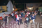 DANCING: Dancing on the street till small hrs of the morning during the  Fleadh Ceoil, Causeway on Saturday night were some of the locals.......
