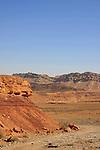 Israel, Negev, Wadi Ardon in Ramon Ceater