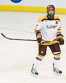 Brady Lamb (Duluth - 2) - The University of Minnesota Duluth Bulldogs defeated the University of Maine Black Bears 5-2 in their NCAA Northeast semifinal on Saturday, March 24, 2012, at the DCU Center in Worcester, Massachusetts.