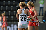 NED - Amsterdam, Netherlands, August 20: During the women Pool B group match between Germany (white) and England (red) at the Rabo EuroHockey Championships 2017 August 20, 2017 at Wagener Stadium in Amsterdam, Netherlands. Final score 1-0. (Photo by Dirk Markgraf / www.265-images.com) *** Local caption *** Camille Nobis #26 of Germany