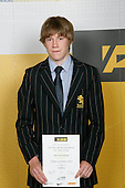 Boys Yachting winner Paul Snow-Hansen. ASB College Sport Young Sportperson of the Year Awards 2007 held at Eden Park on November 15th, 2007.