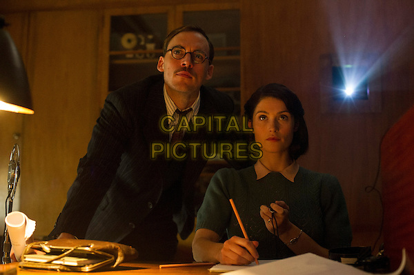 Their Finest (2016) <br /> Sam Clafin and Gemma Arterton<br /> *Filmstill - Editorial Use Only*<br /> CAP/FB<br /> Image supplied by Capital Pictures