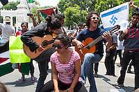 Protesta por la Paz en Palestina
