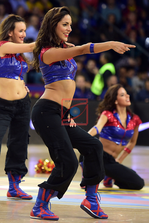 Turkish Airlines Euroleague 2016/2017.<br /> Regular Season - Round 2.<br /> FC Barcelona Lassa vs Fenerbahce Istanbul: 72-73.<br /> Dream Cheers.