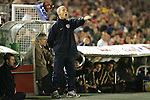 04 June 2008: United States head coach Bob Bradley (USA). The Spain Men's National Team defeated the United States Men's National Team 1-0 at Estadio Municipal El Sardinero in Santander, Spain in an international friendly soccer match.