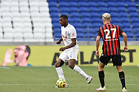 4th July 2020; Lyon, France; French League 1 friendly due to the Covid-19 pandemic forced league ending;  Jeff Reine Adelaide (lyon)