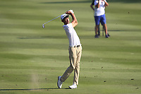 Micah Lauren Shin (USA) on the 17th fairway during Round 4 of the UBS Hong Kong Open, at Hong Kong golf club, Fanling, Hong Kong. 26/11/2017<br /> Picture: Golffile | Thos Caffrey<br /> <br /> <br /> All photo usage must carry mandatory copyright credit     (&copy; Golffile | Thos Caffrey)