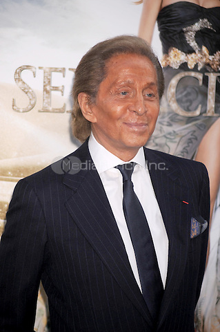 Valentino at the film premiere of 'Sex and the City 2' at Radio City Music Hall in New York City. May 24, 2010.Credit: Dennis Van Tine/MediaPunch