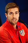 Atletico de Madrid's Gabi Fernandez in press conference before training session. May 9,2017.(ALTERPHOTOS/Acero)