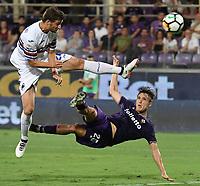 Federico Chiesa Fiorentina <br /> Firenze 27-08-2017 Stadio Artemio Franchi Calcio Serie A Fiorentina - Sampdoria Foto Andrea Staccioli / Insidefoto