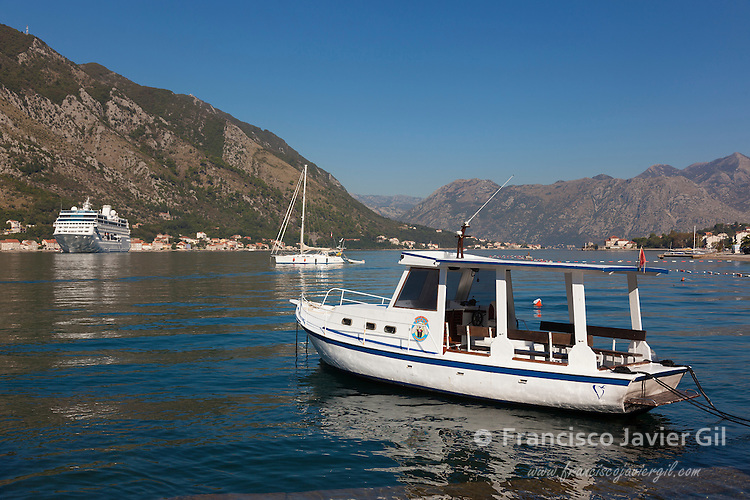 Bay of Kotor, UNESCO World Heritage Site, Kotor, Montenegro