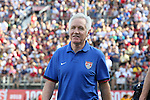 10 November 2013: U.S. head coach Tom Sermanni (SCO). The United States Women's National Team played the Brazil Women's National Team at the Citrus Bowl in Orlando, Florida in an international friendly soccer match.