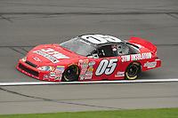 Oct. 3, 2009; Kansas City, KS, USA; NASCAR Nationwide Series driver Casey Atwood during the Kansas Lottery 300 at Kansas Speedway. Mandatory Credit: Mark J. Rebilas-