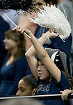 January 14, 2012:   A young Nevada Wolf Pack fan cheers during their game against the Hawai'i Rainbow Warriors during their NCAA basketball game played at Lawlor Events Center on Saturday night in Reno, Nevada.