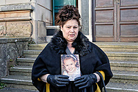 2018 02 26 Ellie-May Clark inquest, Newport Coroner's Court, Wales, UK