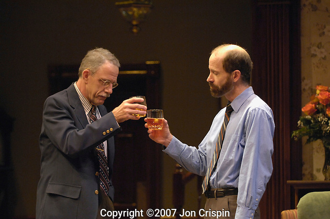 """New Century Theatre's """"Cocktail Hour""""..© 2007 JON CRISPIN .Please Credit   Jon Crispin.Jon Crispin   PO Box 958   Amherst, MA 01004.413 256 6453.ALL RIGHTS RESERVED"""