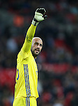 Spain's Pepe Reina in action during the friendly match at Wembley Stadium, London. Picture date November 15th, 2016 Pic David Klein/Sportimage