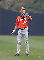 Kevin Diego of the Miami Hurricanes vs. the Virginia Cavaliers: March 24th, 2007 at Davenport Field in Charlottesville, VA.  Photo by:  Mike Janes/Four Seam Images