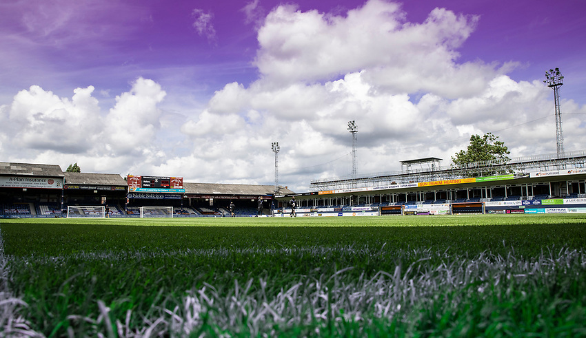 A general view of the Kenilworth Road stadium<br /> <br /> Photographer Andrew Kearns/CameraSport<br /> <br /> The EFL Sky Bet Championship - Luton Town v Preston North End - Saturday 20th June 2020 - Kenilworth Road - Luton<br /> <br /> World Copyright © 2020 CameraSport. All rights reserved. 43 Linden Ave. Countesthorpe. Leicester. England. LE8 5PG - Tel: +44 (0) 116 277 4147 - admin@camerasport.com - www.camerasport.com