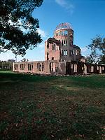 The Peace Dome, atom bomb memorial park, Hiroshima, Japa