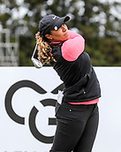 30th September 2017, Windross Farm, Auckland, New Zealand; LPGA McKayson NZ Womens Open, third round;  USAs Cheyenne Woods