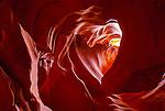 The Heart; Antelope Canyon; Page; Arizona, USA; Native American;