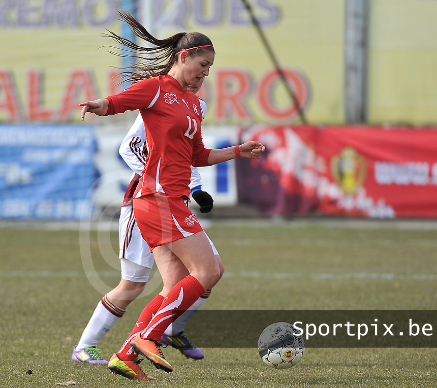 Switzerland U19 - Russia U19 : Barla Deplazes.foto DAVID CATRY / Nikonpro.be