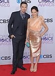 Jay Ryan and Kristin Kreuk at The 2013 People's Choice Awards held at Nokia Live in Los Angeles, California on January 09,2013                                                                   Copyright 2013 Hollywood Press Agency