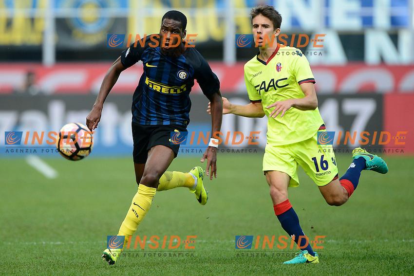 Geoffrey Kondogbia Inter<br /> Milano 25-09-2016 Stadio Giuseppe Meazza - Football Calcio Serie A Inter - Bologna. Foto Giuseppe Celeste / Insidefoto