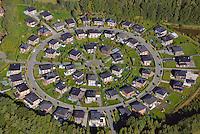 Wohnsiedlung: EUROPA, DEUTSCHLAND, HAMBURG,  (GERMANY), 28.09.2013: Wohnsiedlung